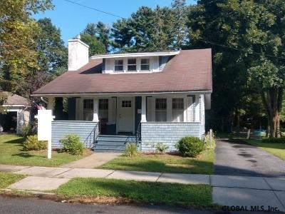Glens Falls Single Family Home For Sale: 8 Webster Av