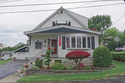 Mechanicville, Stillwater Single Family Home For Sale: 1 Philadelphia Av