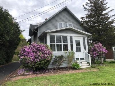 Voorheesville NY Single Family Home Active-Under Contract: $234,900