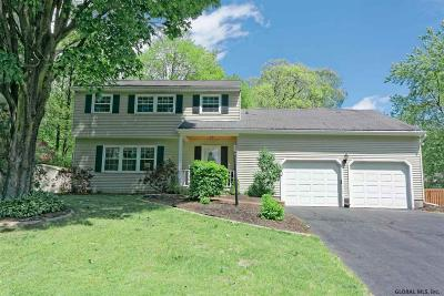 Clifton Park Single Family Home For Sale: 4 Stockton Ct