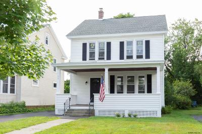 Albany Single Family Home Price Change: 53 Oakwood St