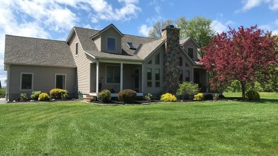 Saratoga Single Family Home Active-Under Contract: 138 County Rt 338