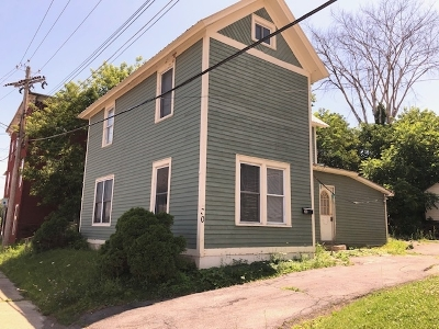 Ticonderoga Single Family Home For Auction: 30 Algonquin Rd