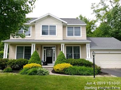 Clifton Park Single Family Home For Sale: 37 Sterling Heights Dr