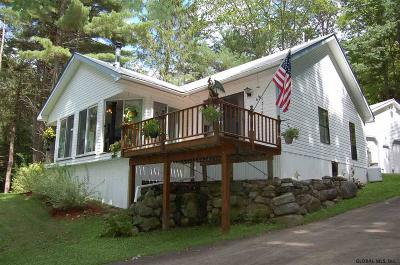 Albany County, Saratoga County, Schenectady County, Warren County, Washington County Single Family Home For Sale: 1318 South Shore Rd