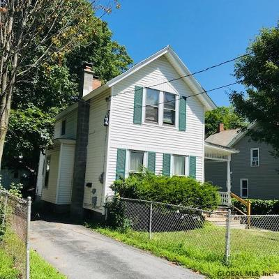 Glens Falls Single Family Home For Sale: 7 Third St