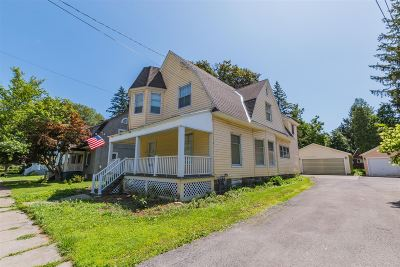 Gloversville NY Single Family Home For Sale: $109,900