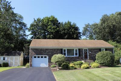 Guilderland Single Family Home For Sale: 2 Janet La