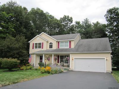 Clifton Park Single Family Home For Sale: 3 Hilltop Hollow Dr