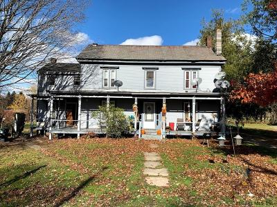 Rensselaer County Multi Family Home For Sale: 370-372 Ny Rt 43