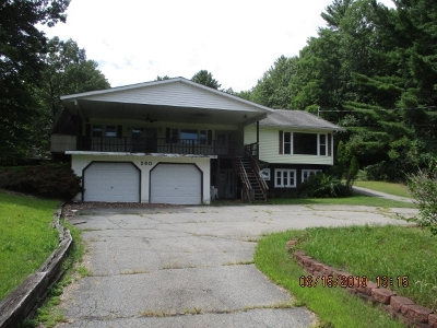 Queensbury Single Family Home For Sale: 260 Big Boom Rd