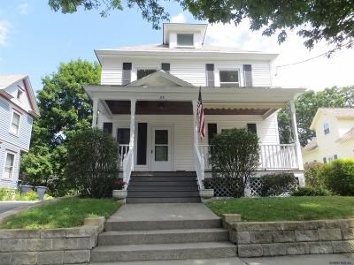 Glens Falls Single Family Home For Sale: 23 Wing St
