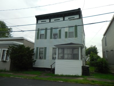Cohoes Single Family Home For Sale: 3 Division St