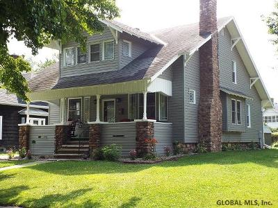 Gloversville NY Single Family Home New: $139,000