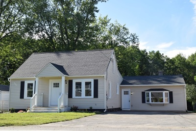 Schenectady County Single Family Home New: 623 Mariaville Rd