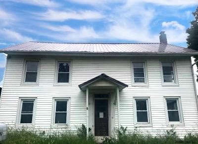 Schoharie County Single Family Home New: 1134 W Richmondville Rd