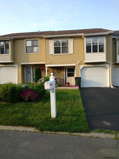 Cohoes Single Family Home For Sale: 61 Meadowlark Dr