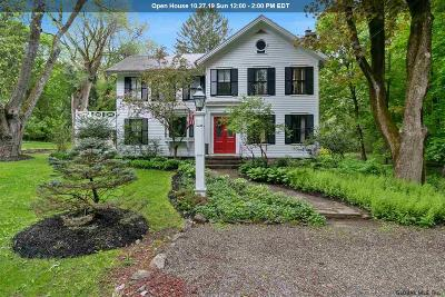 Rensselaer County Single Family Home For Sale: 46 Old South Rd