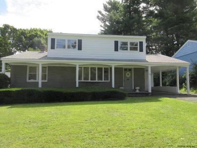 Albany Single Family Home Price Change: 203 Marion Av