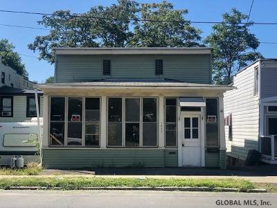 Rensselaer County Single Family Home Active-Under Contract: 1495 Broadway