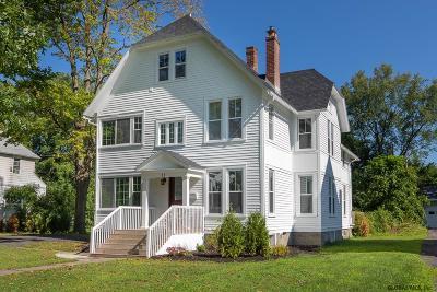 Menands Single Family Home For Sale: 11 Brookside Av