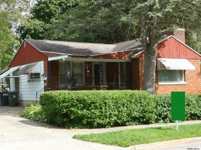 Saratoga Single Family Home Active-Under Contract: 54 Walnut St
