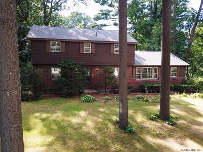 Clifton Park Single Family Home For Sale: 12 Pinewood Dr