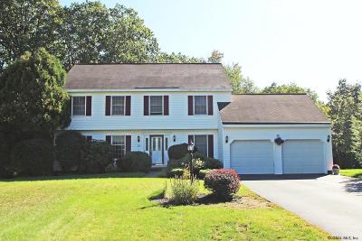 Clifton Park Single Family Home Price Change: 105 Old Coach Rd