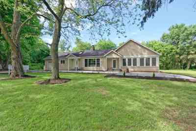 Albany County Single Family Home For Sale: 273 Watervliet Shaker Rd