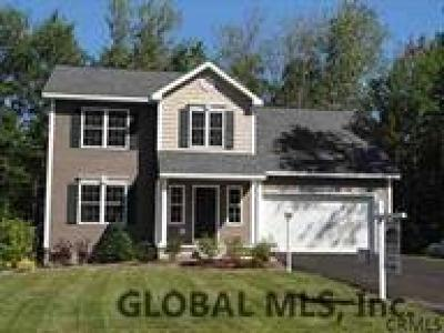 Rensselaer County Single Family Home For Sale: Mosher Rd