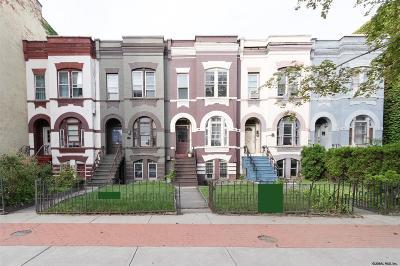 Albany NY Multi Family Home Price Change: $1,008,000