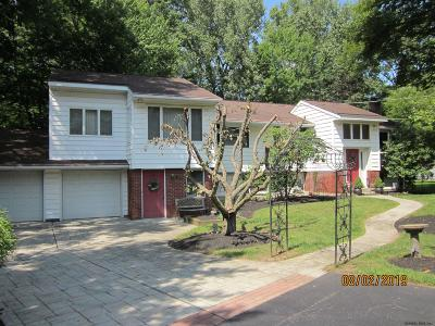 Clifton Park Single Family Home For Sale: 1565 Crescent Rd