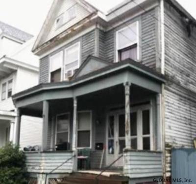 Troy Single Family Home For Auction: 859 3rd Av