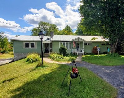 Greenfield, Corinth, Corinth Tov Single Family Home For Sale: 4715 Nys Route 9n