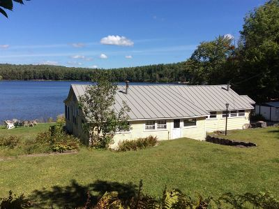 Greenfield, Corinth, Corinth Tov Single Family Home New: 156 Hunt Lake Rd