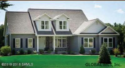 Saratoga County Single Family Home New: 114 Kadnorida Dr