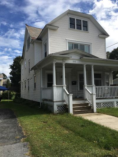 Albany County, Columbia County, Greene County, Fulton County, Montgomery County, Rensselaer County, Saratoga County, Schenectady County, Schoharie County, Warren County, Washington County Single Family Home New: 153 Ridge St