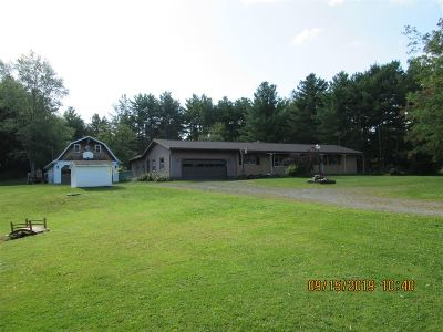 Rensselaer County Single Family Home New: 3468 Ny Rt 7