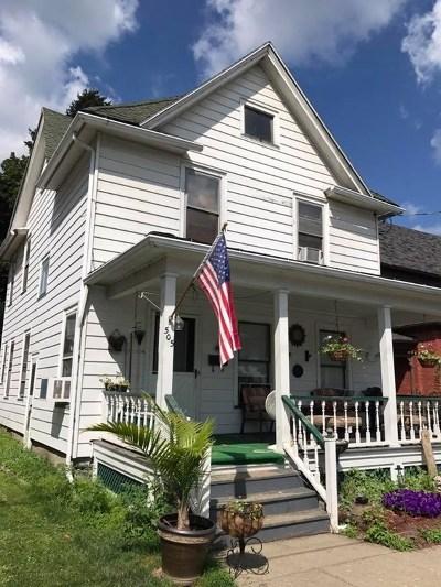 Watkins Glen Single Family Home For Sale: 505 Porter Street
