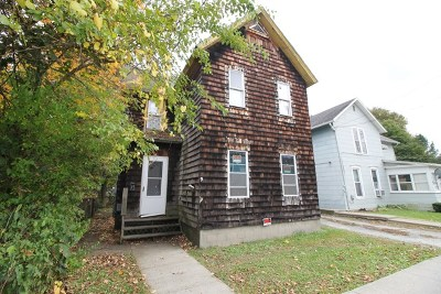 Bath NY Multi Family Home For Sale: $74,900