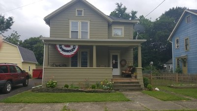 Montour Falls Single Family Home For Sale: 119 E Main