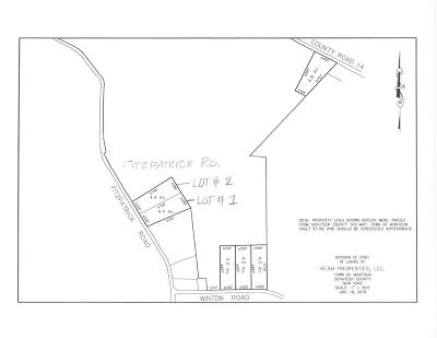 Schuyler County Residential Lots & Land For Sale: Lot #1 Fitzpatrick Hill Rd