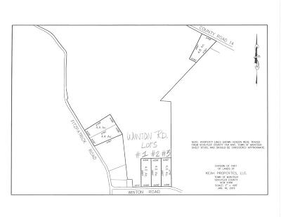 Schuyler County Residential Lots & Land For Sale: Lot # 3 Winton Rd