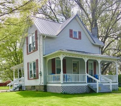 Burdett Single Family Home For Sale: 3748 Main St