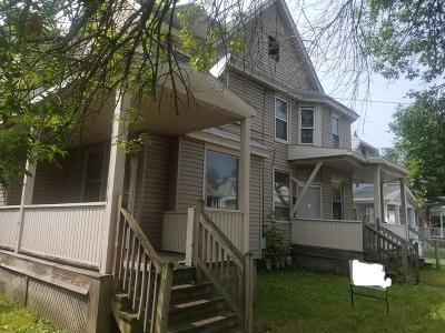 Elmira NY Multi Family Home For Sale: $48,900