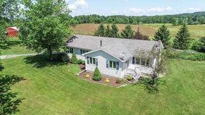 Burdett Single Family Home For Sale: 4211 Mathews Road