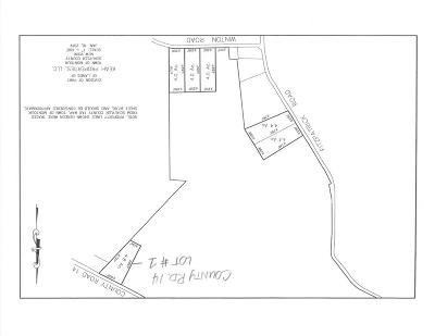 Lots and Land For Sale: Lot # 1 County Road 14