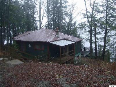 Caroga Lake Single Family Home Deposit: 179 N Shore Rd