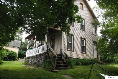 Gloversville NY Single Family Home For Sale: $50,999