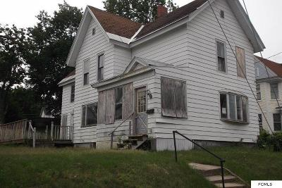 Gloversville NY Single Family Home For Sale: $10,000